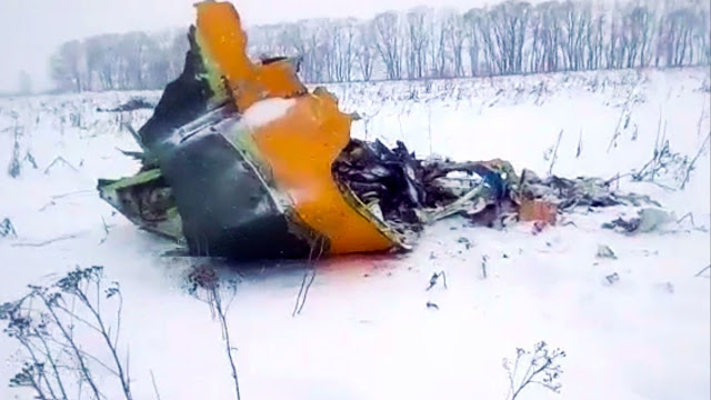 Russian Plane Crashes Shortly After Takeoff, Killing ALL 71 On Board