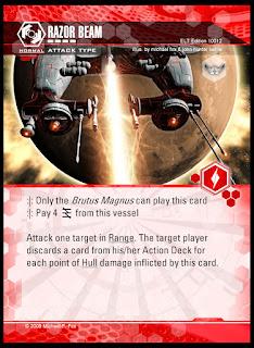 ATTACK type: Razor Beam