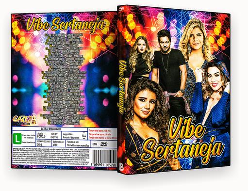 CAPA DVD – Vibe Sertaneja – ISO