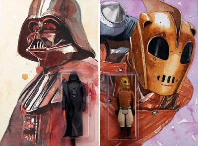 """Influential Figures"" Solo Art Show by Lou Pimentel at Gallery1988 and curated by DKE Toys"