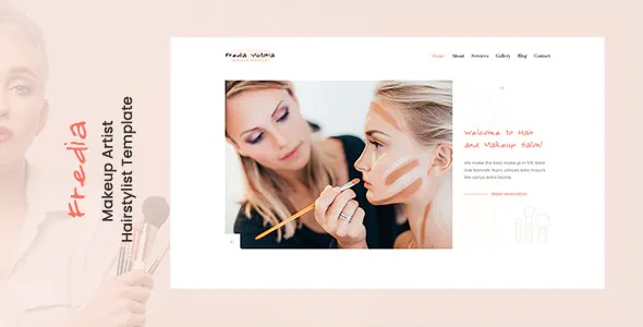 Best Makeup Artist and Hairstylist Template