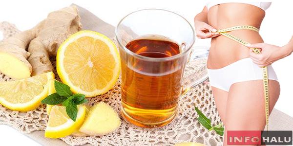Benarkah Ramuan Lemon dan Jahe Dapat Mengecilkan Perut Yang Buncit?