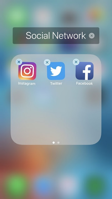 add apps to the folder