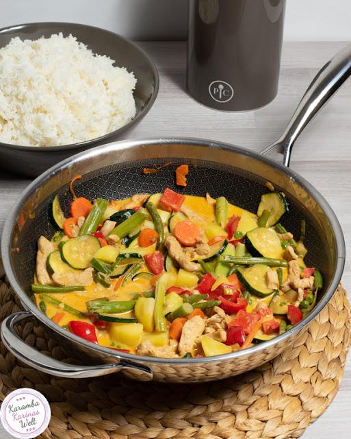 Rezept für Puten-Curry wie beim Thailänder