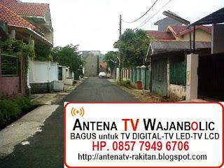 Jual ANTENA TV WAJANBOLIC  Ranco Indah Jagakarsa Jakarta Selatan