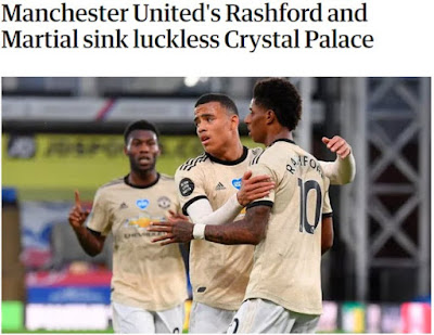 MU hạ Crystal Palace: Rashford – Martial bùng nổ, báo Anh khen nức nở