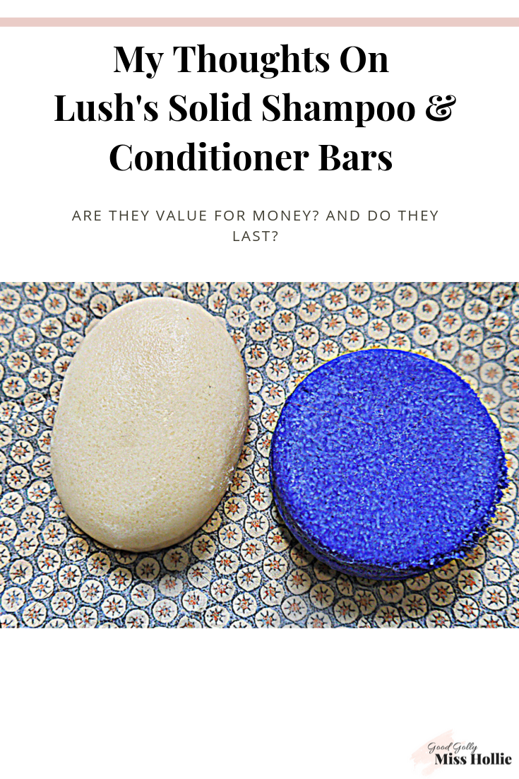 My Thoughts On Lush's Solid Shampoo And Conditioner Bars