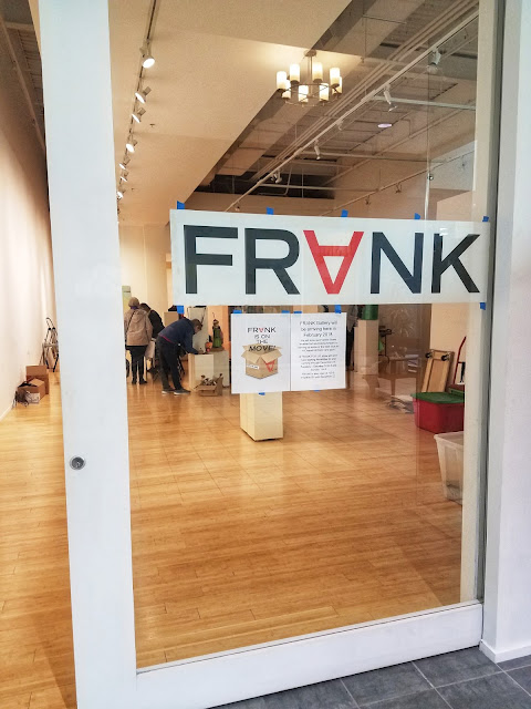Frank Art Gallery will be in University Place full-time in February 2018.