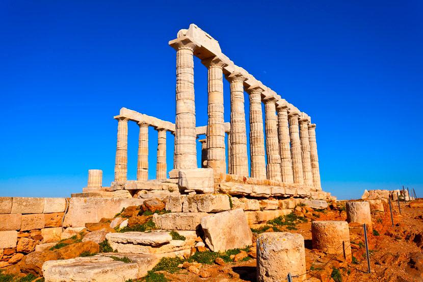 Temple of Poseidon Sounion 5