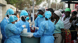 cholera cases top 1,000 in Mozambique after Cyclone Idai.