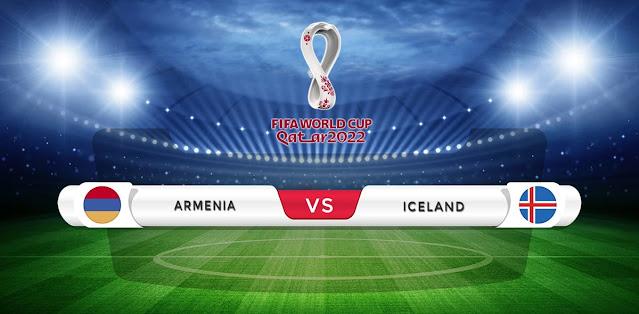Armenia vs Iceland Prediction & Match Preview