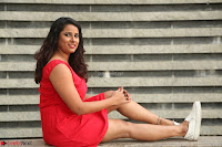 Shravya Reddy in Short Tight Red Dress Spicy Pics ~  Exclusive Pics 080.JPG
