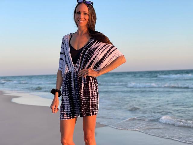 DIY Knit Beach Romper