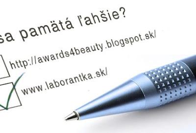 Z Awards4beauty na Laborantka.sk