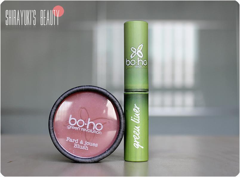 Shirayuki's Beauty: Boho Cosmetics - Blush and Eyeliner
