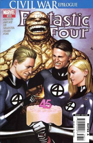 Civil War Epilogue: Fantastic Four #543 PDF