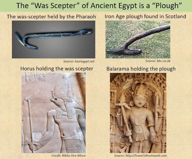 The Was Scepter of the Egyptian Pharaoh was a Plough