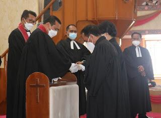 22 Pendeta HKBP Ditahbiskan, Ephorus Minta ini Kepada Jemaat!