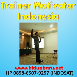 Trainer Motivator Terbaik Indonesia