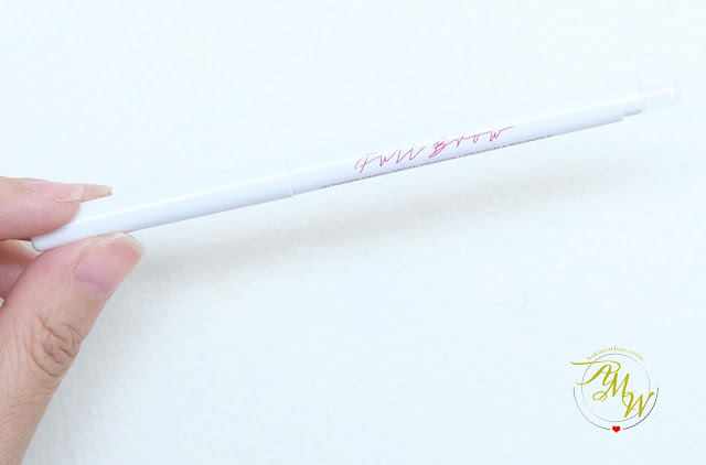 a photo of Full Brow Powder Finish Brow Crayon Review by Nikki Tiu of www.askmewhats.com