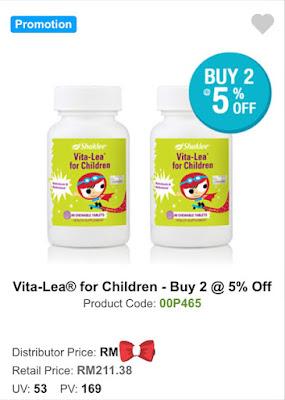 PROMOSI VITA-LEA FOR CHILDREN