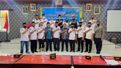 Perkuat Program Kemitraan: Polres Padang Panjang Bersinergis Bersama Pokdarkamtibmas Kota Padang Panjang Ciptakan Kamtibmas Yang Kondusif
