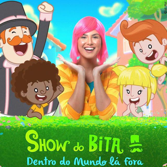 SHOW DO BITA - DENTRO DO MUNDO LÁ FORA - ACONTECE NO DIA 29 DE MARÇO NO THEATRO PEDRO II EM RIBEIRÃO PRETO, SHOWS EM RIBEIRÃO PRETO, SHOW DO BITA, RIBEIRÃO PRETO, AGENDA SHOW THEATRO PEDRO II, SHOWS INFANTIS EM RIBEIRÃO PRETO