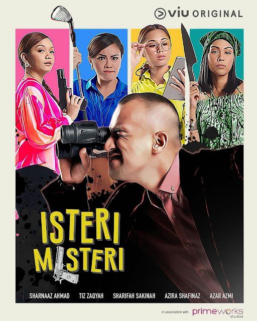 Tonton Semua Episod Drama Isteri Misteri Di TV3 dan VIU (Slot Drama Pukul 6)