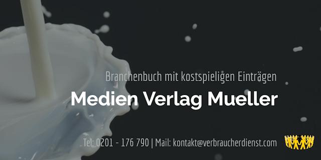 Titelbild: Medien Verlag Mueller  Branchenbuch verschickt Rechnungen
