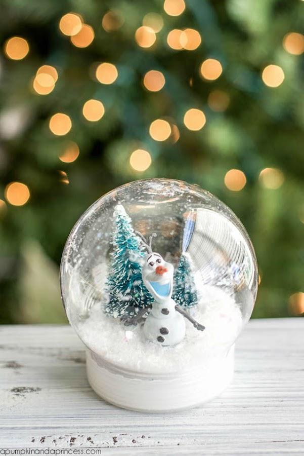 Bola de nieve DIY OLAF FROZEN
