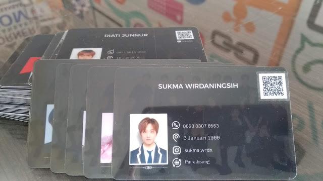 Member Card Fans Artis K-POP