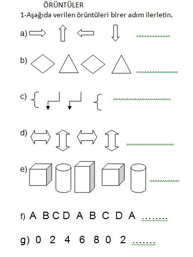 3 Sinif Matematik Oruntu Calismasi Ders Ve Calisma Kitabi Cevaplari