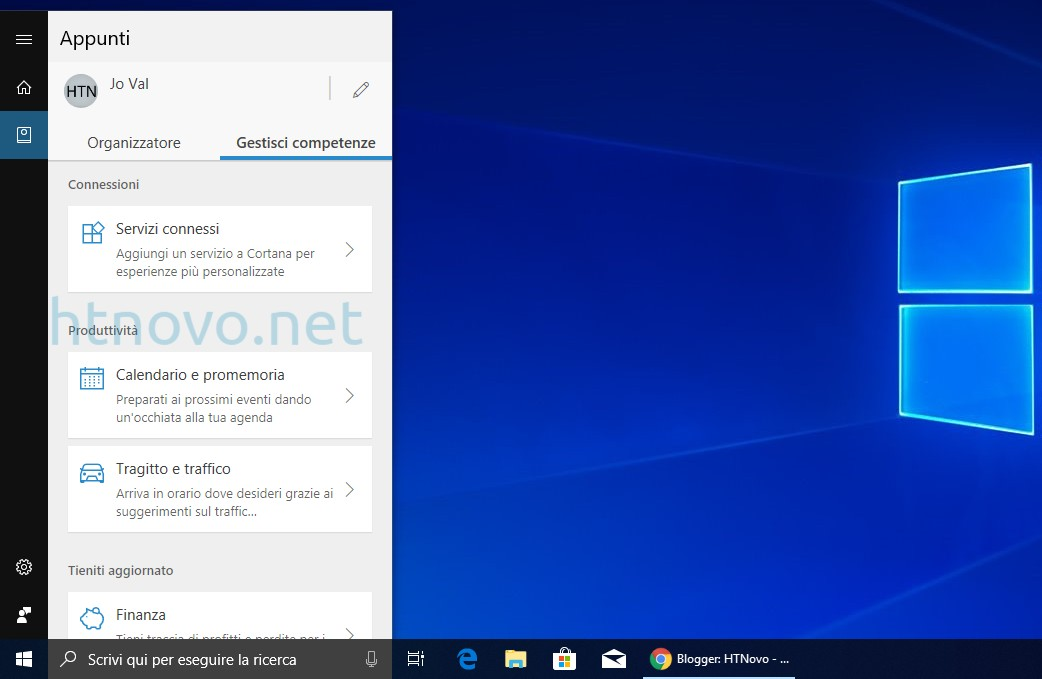 Nuovo-layout-cortana