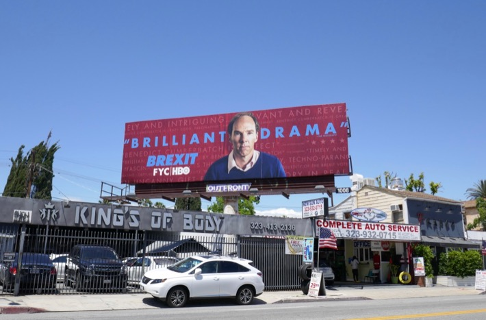 Brexit 2019 Emmy FYC billboard