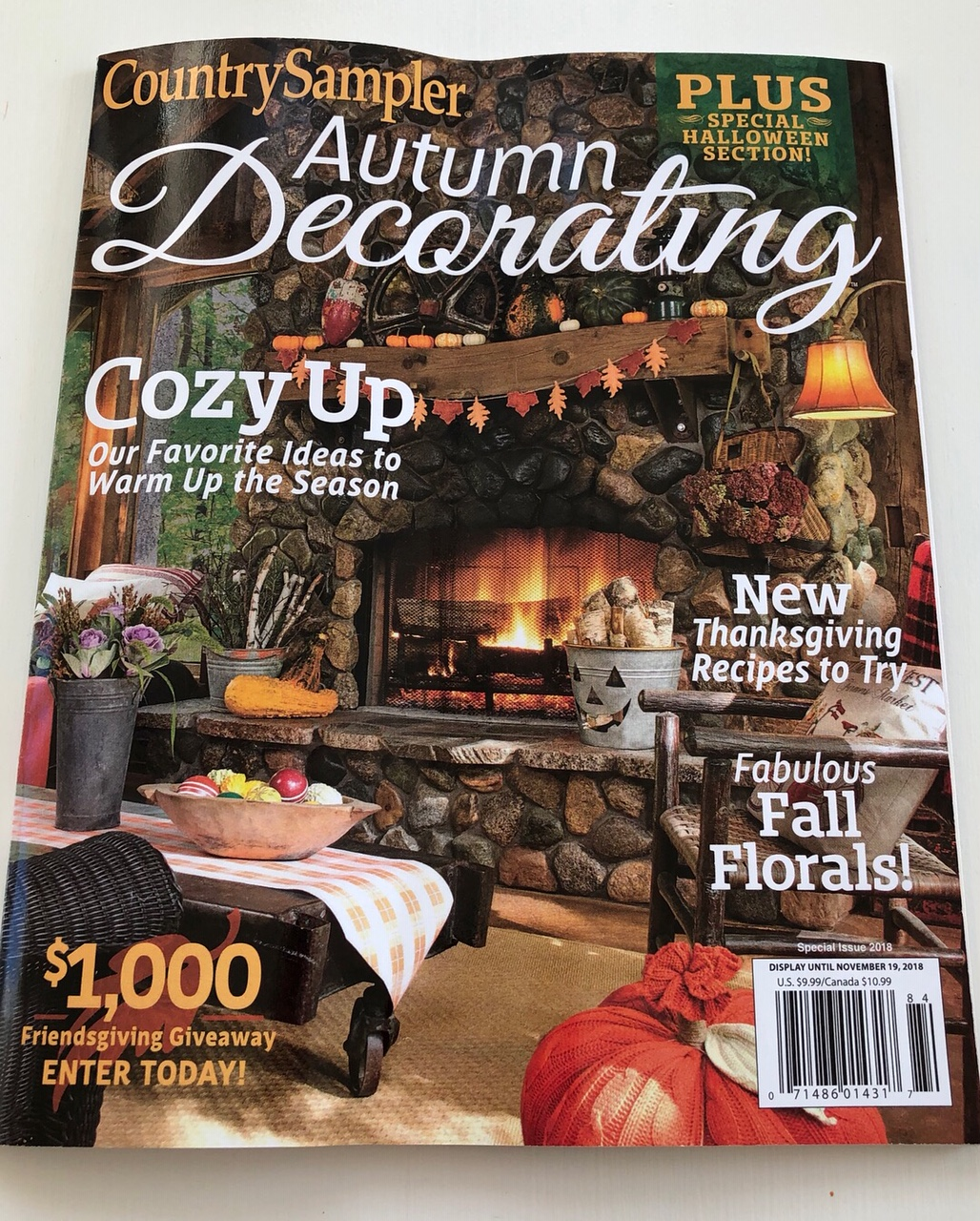 Adventures in Decorating: Thank You Country Sampler Magazine!