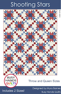 Shooting Stars Quilts Pattern by Myra Barnes of Busy Hands Quilts
