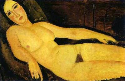 Nua em um Divã - Amedeo Modigliani e suas pricipais pinturas