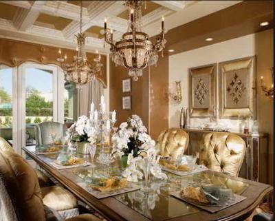 Desain Interior Ruang Makan  Mewah Minimalis 2