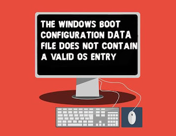 Fix The Windows Boot Configuration Data File does not Contain a Valid OS Entry