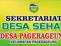 Download Contoh Plang Sekretariat Pokja Desa Sehat Format CDR