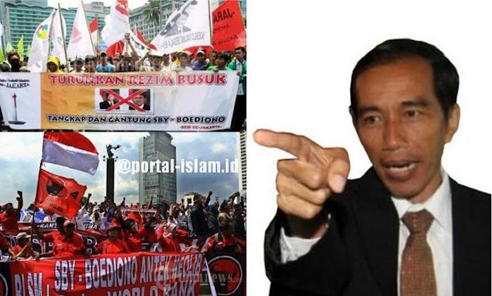 Cuma Minta Jokowi Mundur Kok Dipidana?