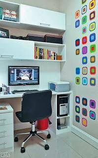 แบบมุมห้องทำงานขนาดเล็ก