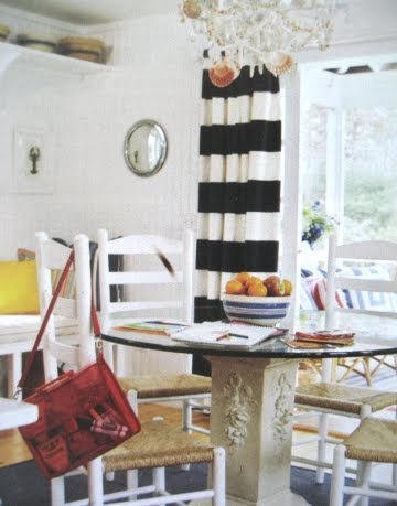 beach cottage dining room