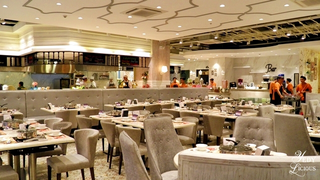 Homey and Classy Ambiance at Four Seasons Cubao