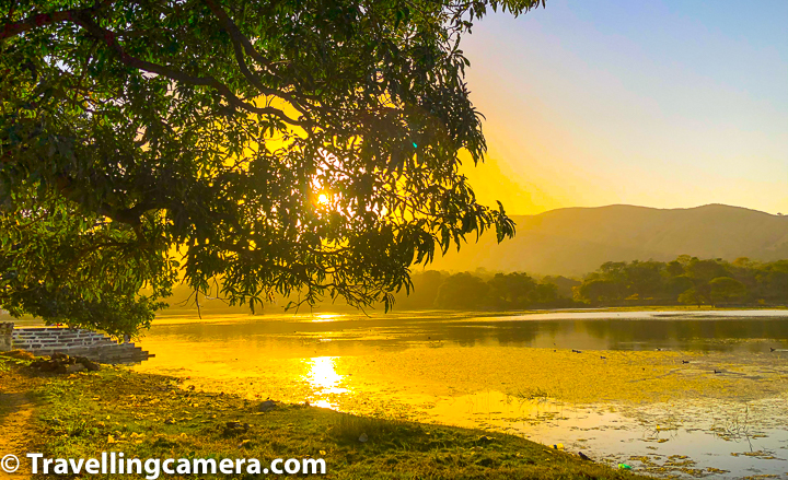 Sunset can be a good time to be around the Hammerpal lake.   Related Blogpost - Vedi Temple inside KumbalGarh Fort, Rajasthan - 3 Storey Octagonal structure standing strong on 36 pillars around world's second largest wall