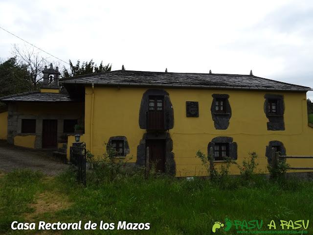Casa Rectoral de los Mazos