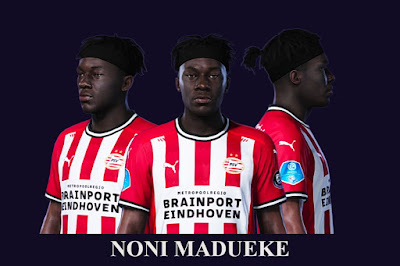 PES 2021 Faces Noni Madueke by SR