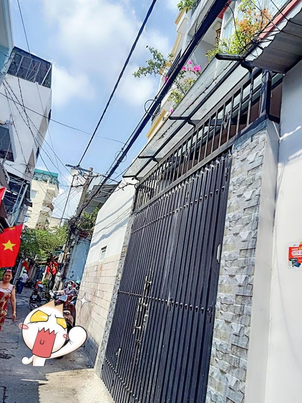 Bán nhà hẻm 198 Nguyễn Sơn quận Tân Phú giá rẻ 2020. Nhà 1 lầu hẻm 3m