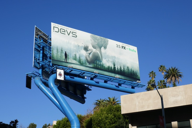 Devs series launch billboard