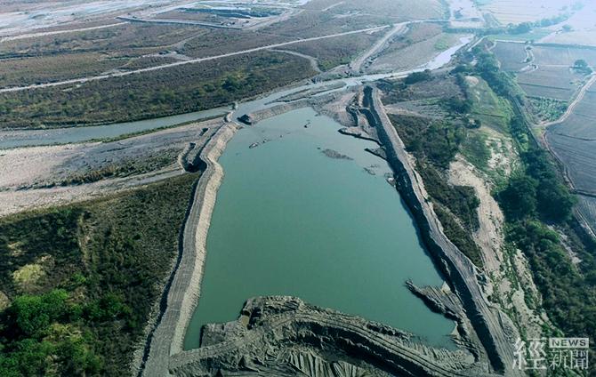 濁水溪河槽地下水補注工作推動場址水覆蓋現況